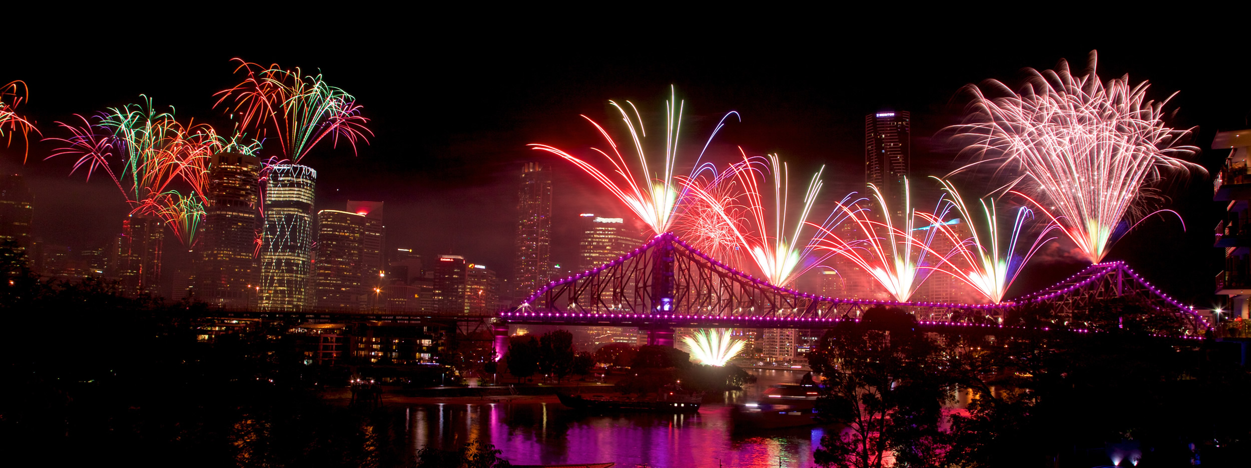 Riverfire fireworks display